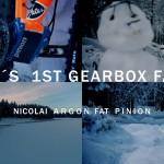 Nicolai Argon FAT Pinion auf den verschneiten Trails im Harz.