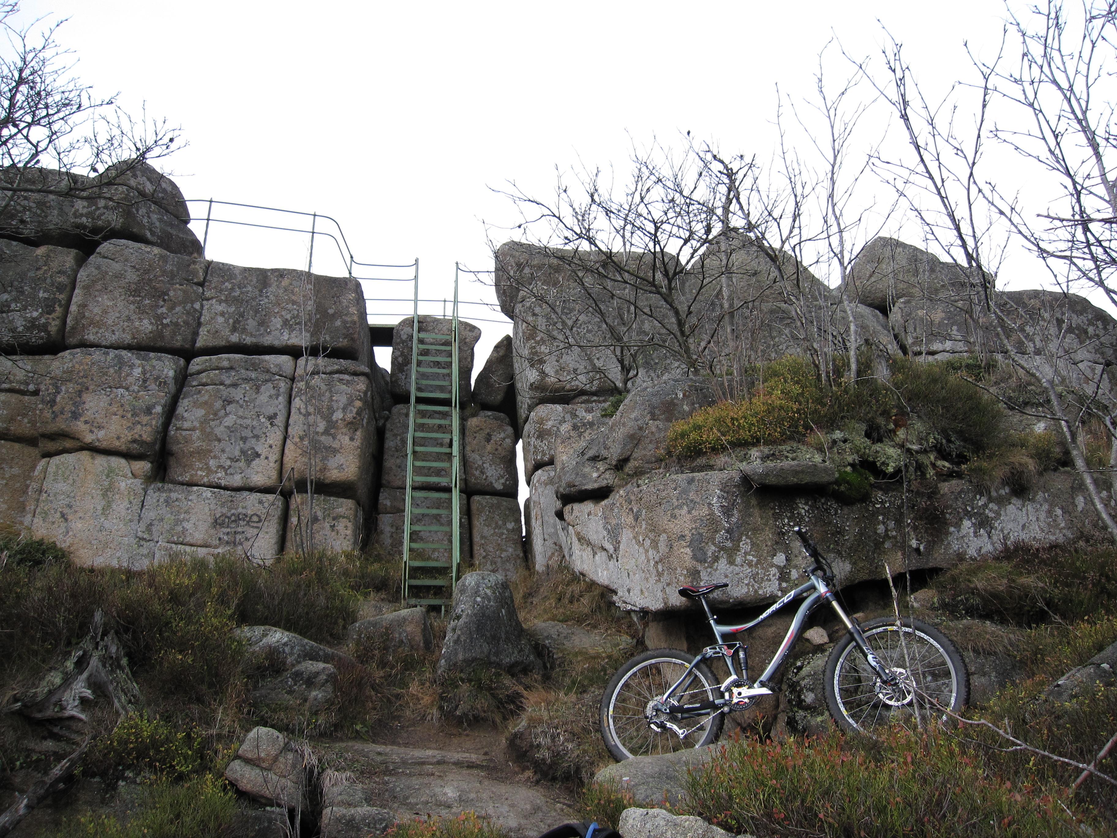 Mountainbike singletrails harz