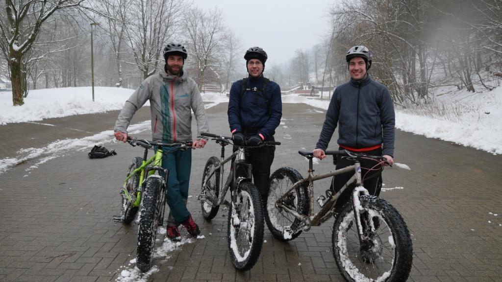 Ende der Tour zur Hanskühnenburg
