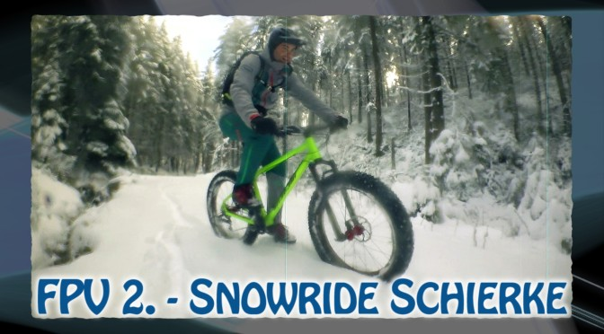 Snowride in Schierke